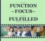 How to Function, Focus and be Fulfilled in Your Set Place- DVD