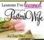 Lessons I Have Learned from Being a Pastors' Wife - DIV 2